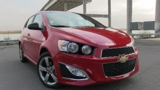 2013 Chevrolet Sonic RS First Drive Review&0-60 MPH Test