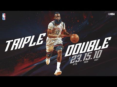 James Harden and Trevor Ariza Lead Rockets Past Mavericks