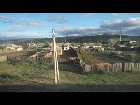 RIDE TO MAGADAN 2016 - ON TRANS SIBERIAN RAILWAY NEAR TO CHITA - 2 (видео)