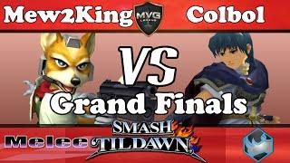 Mew2King going all fox against colbol (Fox Dittos and Fox vs Marth)