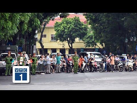 Hà Nội phân luồng giao thông phục vụ Quốc tang | VTC1 - Thời lượng: 1:05.