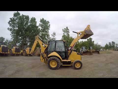 CATERPILLAR RETROEXCAVADORAS CARGADORAS 420FST equipment video 9GsuN7_tKVo