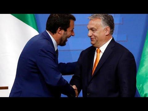 Ungarn: Orban schreibt an Salvini und dankt ihm herzlich