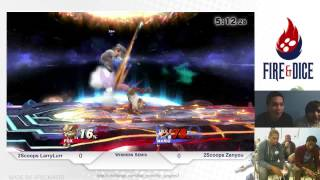 Amazing Fox Combo by LarryLurr in tournament!