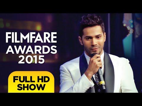 60th Filmfare Awards | Filmfare Awards 2015 | Full Show HD | Shah Rukh Khan Varun Dhawan