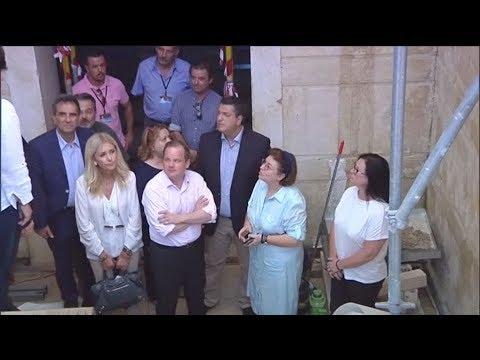 Επίσκεψη της υπουργού Πολιτισμού και Αθλητισμού στην Αμφίπολη