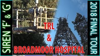 8. Broadmoor Siren 'F' and 'G' - TRL and BROADMOOR HOSPITAL.  Still there?