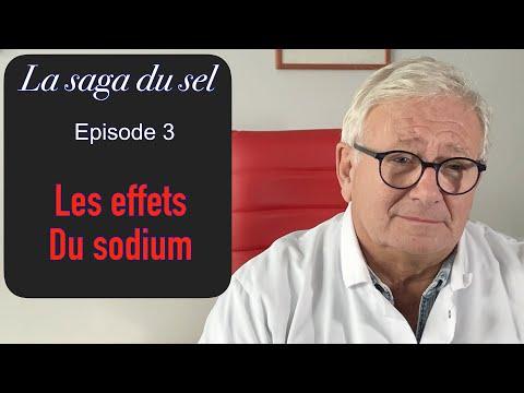Effets du sodium sur l'organisme et son hydratation [10-19]