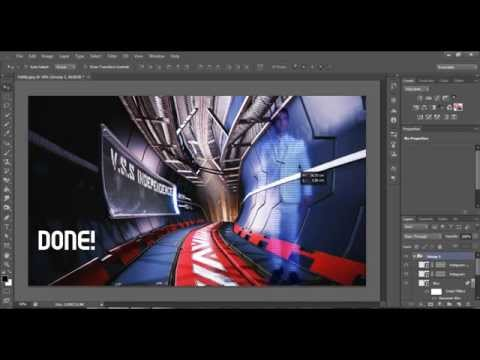 How To Make A Sci-fi, Futuristic Hologram In Photoshop CS6