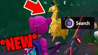 How to get the GOLD LOOT LLAMA in Fortnite: Battle Royale *NEW* Easter egg