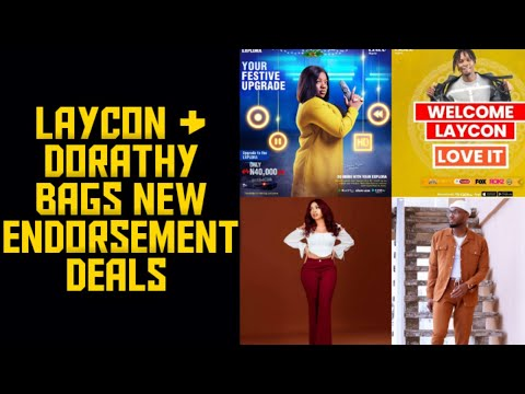 LAYCON AND DORATHY BAGS NEW DEALS|| PRINCE & NENGI FEATURE IN NEW DSTV ADVERT