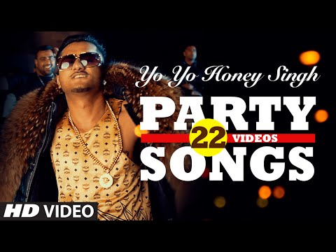 Download Yo Yo Honey Singh's BEST PARTY SONGS (22 Videos)| HINDI SONGS 2016 | BOLLYWOOD PARTY SONGS |T-SERIES HD Mp4 3GP Video and MP3