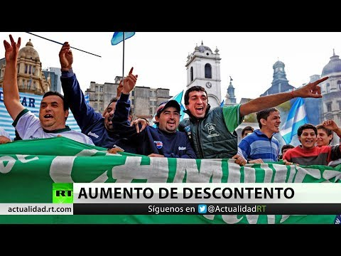 Argentina: nueva masiva protesta contra política del presidente Macri (VIDEO)