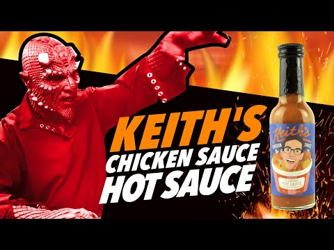 KEITH'S CHICKEN SAUCE HOT SAUCE | THE TRY GUYS