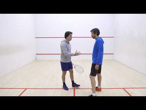 Squash tips: Strokes with Lee Drew - What is a stroke?