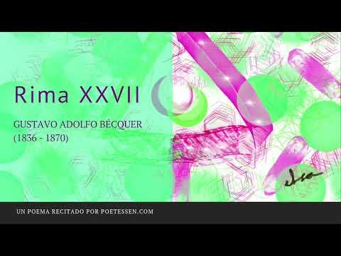 Poemas cortos - RIMA XXVII - Un poema de Gustavo Adolfo Bécquer