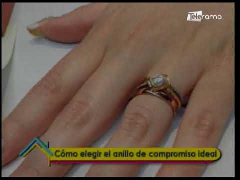 Cómo elegir el anillo de compromiso ideal