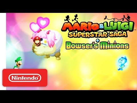 Mario & Luigi Superstar Saga + Bowser's Minions - Accolades Trailer - Nintendo 3DS