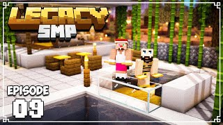 Legacy SMP - THE BEST CLUB ON THE SERVER - Ep. 09 - (Minecraft 1.15 Survival)