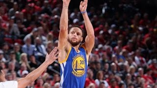 Stephen Curry Puts Up 37/7/8 in Game 4 Win vs. Blazers | April 24, 2017 by NBA