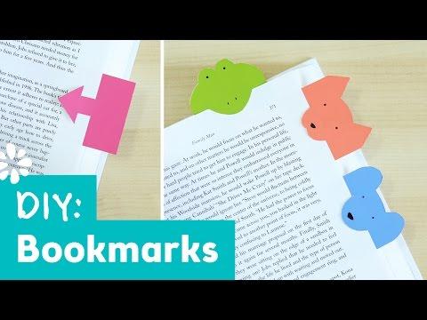 Cute DIY Bookmarks | Sea Lemon