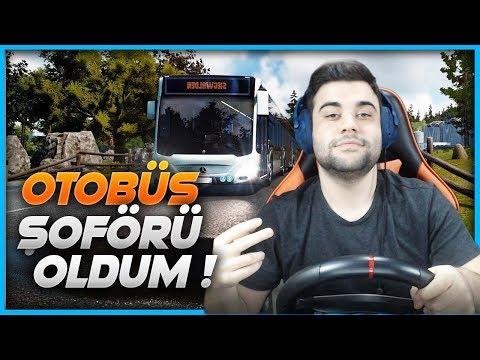 OTOBÜS ŞOFÖRÜ OLDUM ! YENİ İŞİM - (Bus Simulator 18)