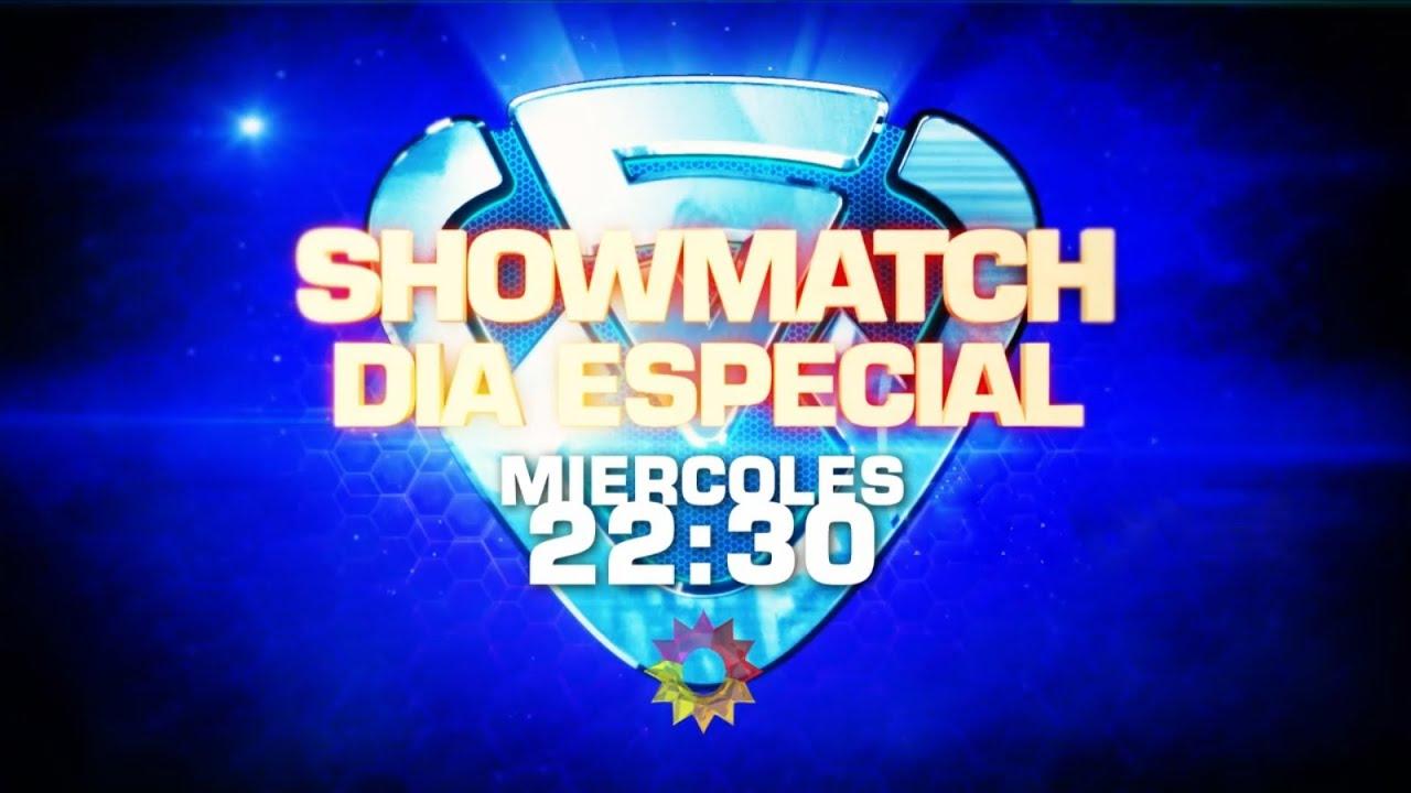 Día especial: ¡Este miércoles a las 22:30, no te pierdas Showmatch! #Showmatch