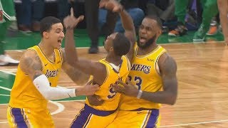 Rajon Rondo Shocks LeBron James With Game Winner vs Celtics! Lakers vs Celtics