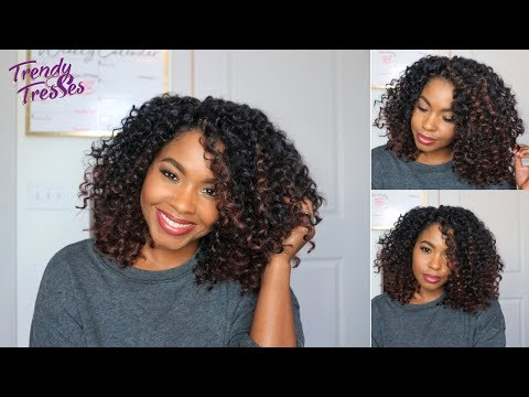 Braid hairstyles - The PERFECT Ombre Crochet Install  Easy Braid Pattern  Trendy Tresses