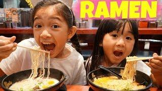 RAMEN HUNT in TOKYO with Kaycee and Rachel