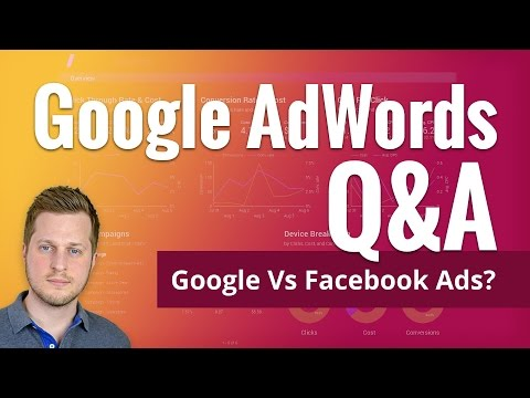 Watch 'Q&A: Google vs Facebook Advertising for Small Business - YouTube'