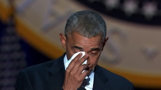 Video Obama tears up talking about Michelle download in MP3, 3GP, MP4, WEBM, AVI, FLV Mei 2017