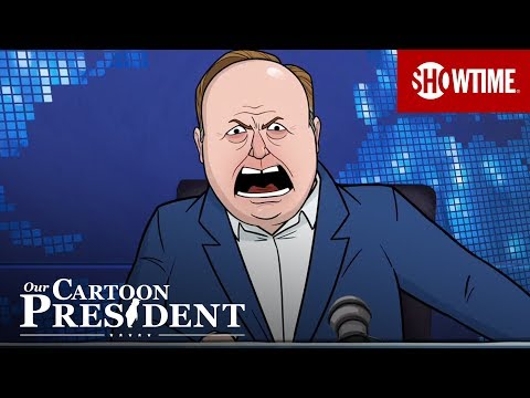 Alex Jones Addresses Ban | Our Cartoon President