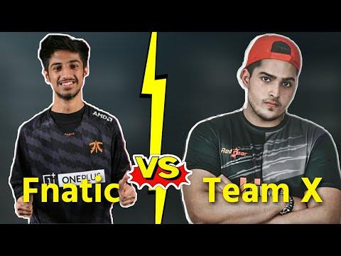 Fnatic  Vs  TeamX  fight | Owais Ash Paritosh vs 420op Destro Aditya Ev0 | #competitive