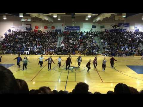 Footworks Dance Co. (VHS) - Winter Rally performance 2017