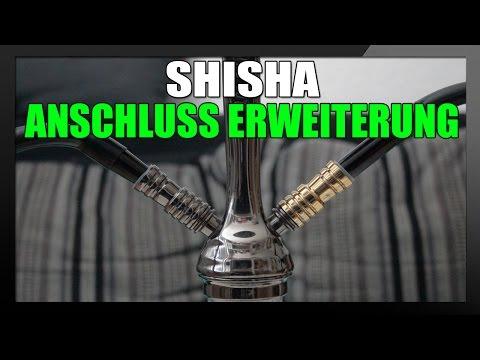 SHISHA SCHLAUCHANSCHLUSS ERWEITERUNG   Shisha mit Freunden rauchen [TUTORIAL]