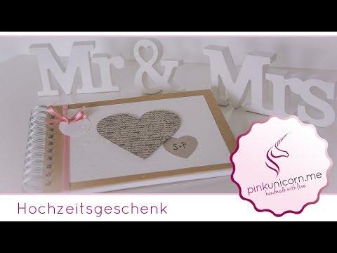 Hochzeitsgeschenk | Hochzeit DIY | DIY Bastelideen | Anleitung | PinkUnicorn.me