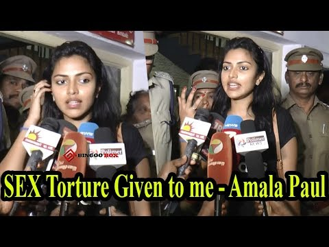 SEX Torture குடுத்தானுக - Amala Paul PressMeet | Police Complaint given in Mambalam Police Station