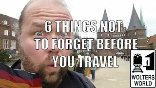 Video 6 Biggest Things People Forget to Do BEFORE They Travel MP3, 3GP, MP4, WEBM, AVI, FLV Februari 2019