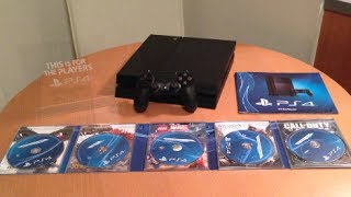 PS4 Unboxing!! (Playstation 4 Unboxing)
