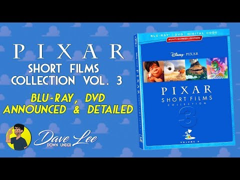 PIXAR SHORT FILMS COLLECTION: VOLUME 3 (2012-2018) - Blu-ray, DVD Announced & Detailed