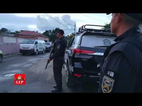 Once personas detenidas tras operativo antipandillas en área de Pacora