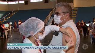 Pesquisadores apontam que a população só estará totalmente vacinada no próximo ano