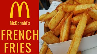 McDonald's French Fries Recipe   how to make french fries at home recipe in hindi by Chef Rubina