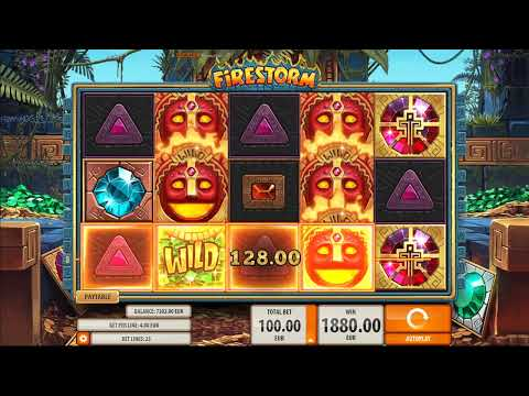 Firestorm Slot Machine at CloudCasino.com BIG WIN
