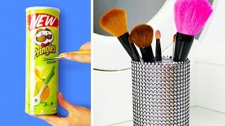 Video 29 HANDY DIY MAKEUP STORAGE IDEAS MP3, 3GP, MP4, WEBM, AVI, FLV November 2018