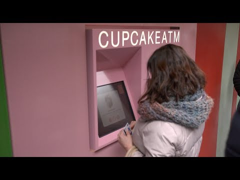 The Cupcake ATM is real and can be found in New York