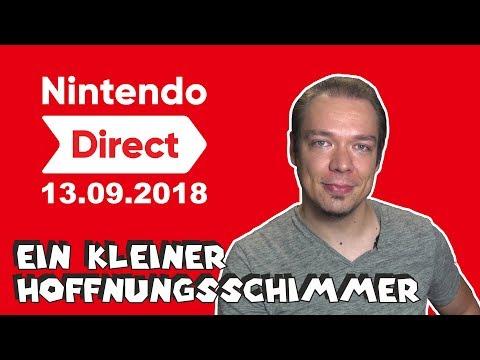 Wir müssen reden! - Meine Meinung zur Nintendo Direct am 13.09.18 (видео)