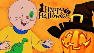 CAILLOU | Caillou's Halloween | 2 HOUR COMPILATION | Cartoons For Kids 🎃