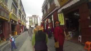 Día 257: Lagos y glaciares hasta Lhasa
